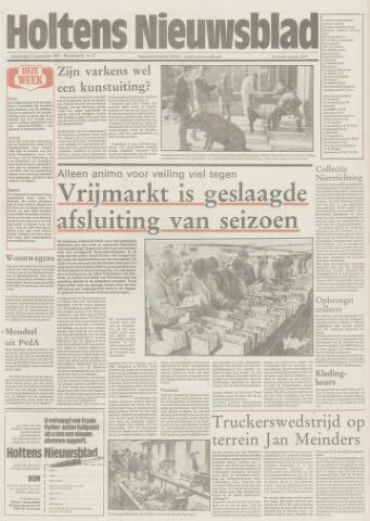Holtens Nieuwsblad 1987-09-17