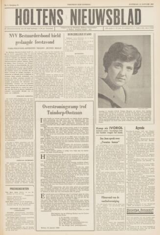 Holtens Nieuwsblad 1960-01-23