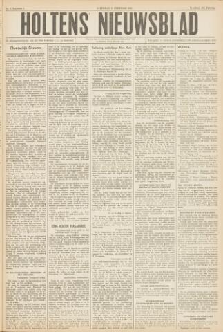 Holtens Nieuwsblad 1952-02-23