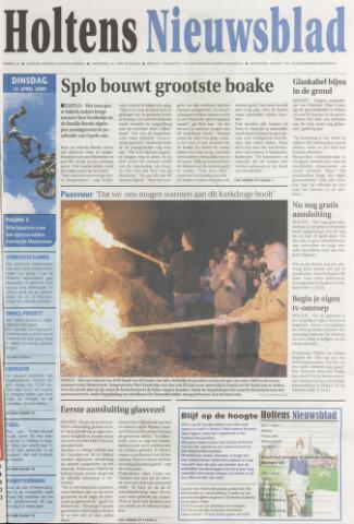 Holtens Nieuwsblad 2009-04-14