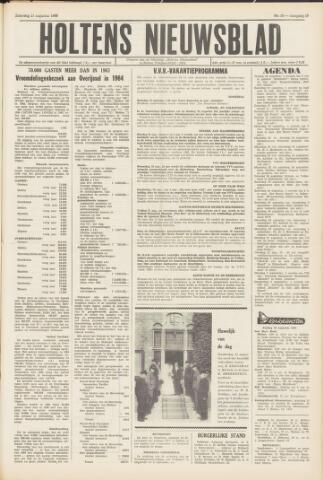 Holtens Nieuwsblad 1965-08-21