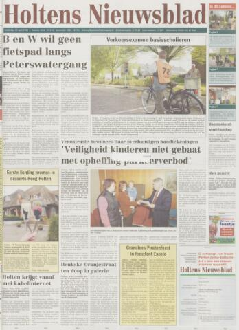 Holtens Nieuwsblad 2004-04-22