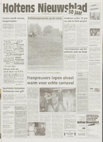 Holtens Nieuwsblad 1999-11-04