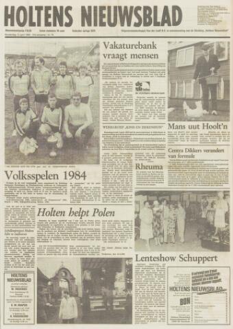 Holtens Nieuwsblad 1984-04-12