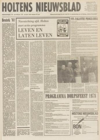 Holtens Nieuwsblad 1978-07-14