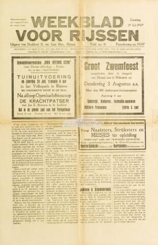 Weekblad voor Rijssen 1939-07-29