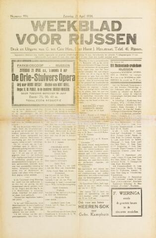 Weekblad voor Rijssen 1934-04-21