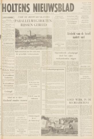 Holtens Nieuwsblad 1969-07-11
