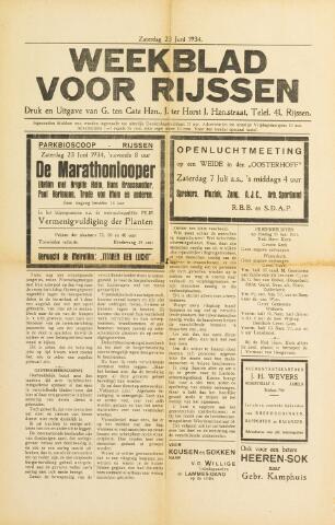 Weekblad voor Rijssen 1934-06-23