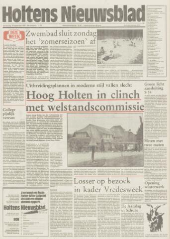 Holtens Nieuwsblad 1987-09-10
