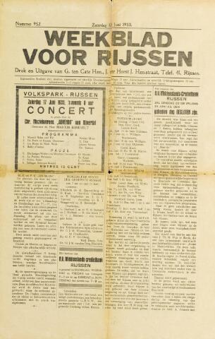 Weekblad voor Rijssen 1933-06-17