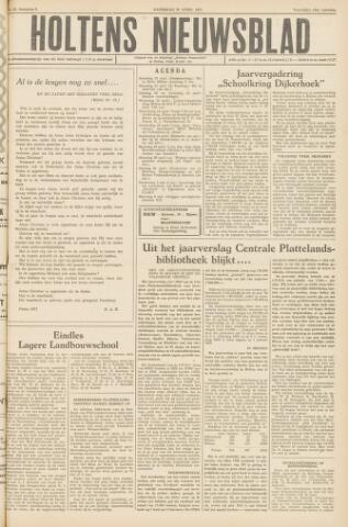 Holtens Nieuwsblad 1957-04-20