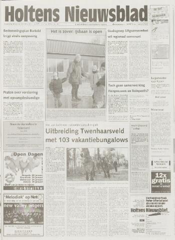 Holtens Nieuwsblad 2001-01-18