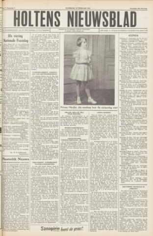 Holtens Nieuwsblad 1955-02-19