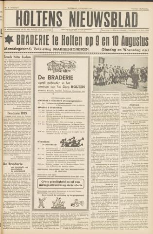 Holtens Nieuwsblad 1955-08-06