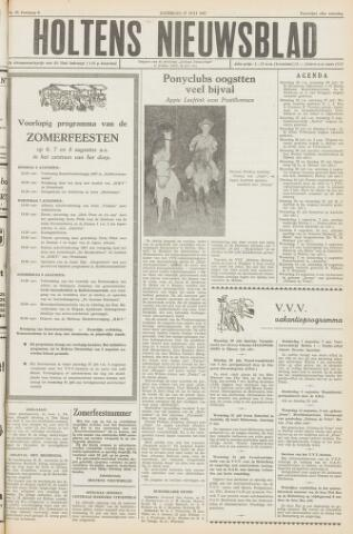 Holtens Nieuwsblad 1957-07-27