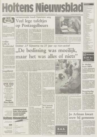Holtens Nieuwsblad 1993-03-18