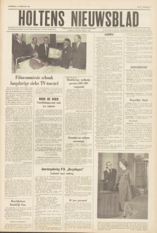 Holtens Nieuwsblad 1962-02-10