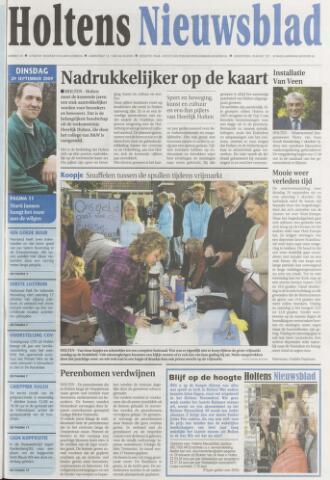 Holtens Nieuwsblad 2009-09-29