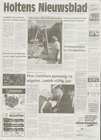 Holtens Nieuwsblad 2001-05-31