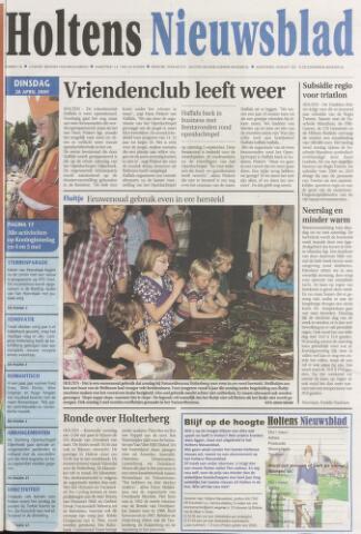 Holtens Nieuwsblad 2009-04-28