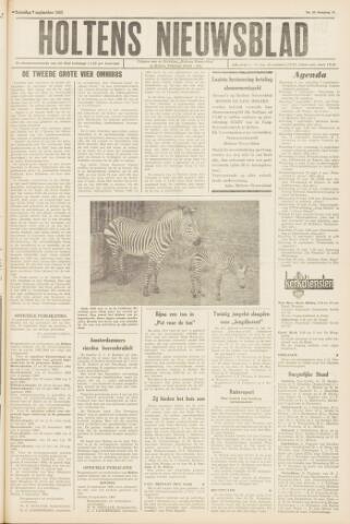 Holtens Nieuwsblad 1963-09-07
