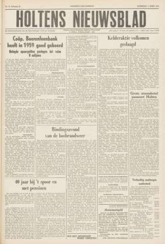 Holtens Nieuwsblad 1960-04-02