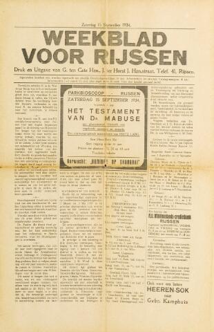 Weekblad voor Rijssen 1934-09-15