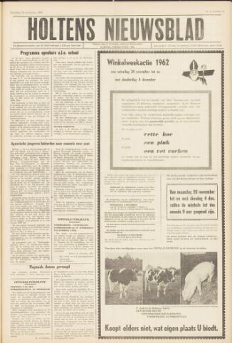 Holtens Nieuwsblad 1962-11-24