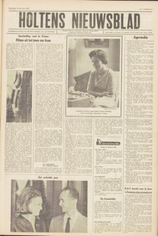 Holtens Nieuwsblad 1964-02-15
