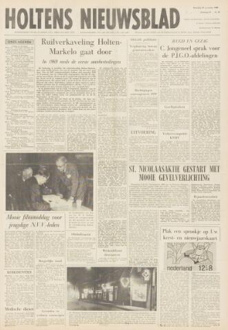 Holtens Nieuwsblad 1968-11-23