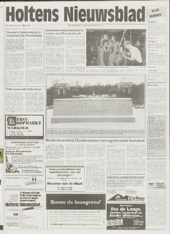 Holtens Nieuwsblad 1998-12-17