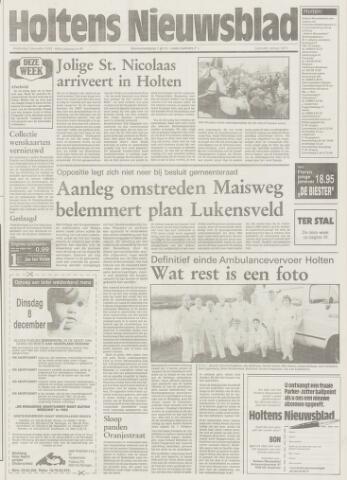 Holtens Nieuwsblad 1992-12-03