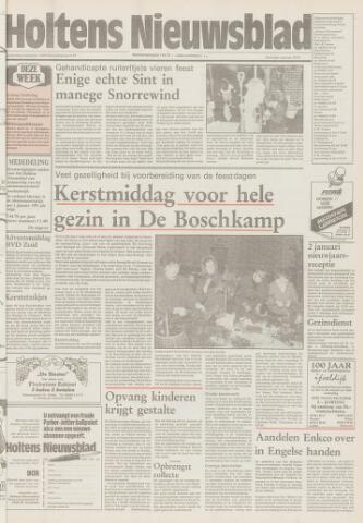 Holtens Nieuwsblad 1990-12-06