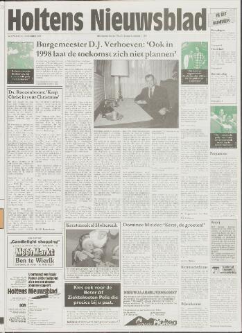 Holtens Nieuwsblad 1998-12-23
