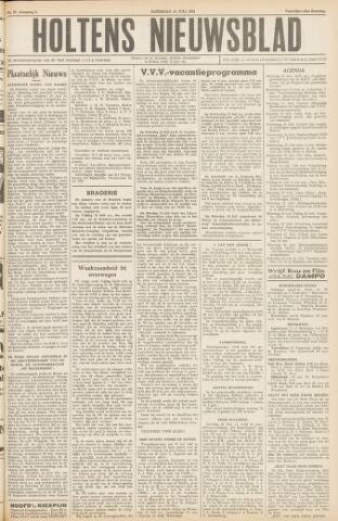 Holtens Nieuwsblad 1954-07-10