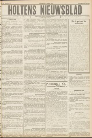Holtens Nieuwsblad 1950-04-22