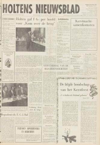 Holtens Nieuwsblad 1972-12-22