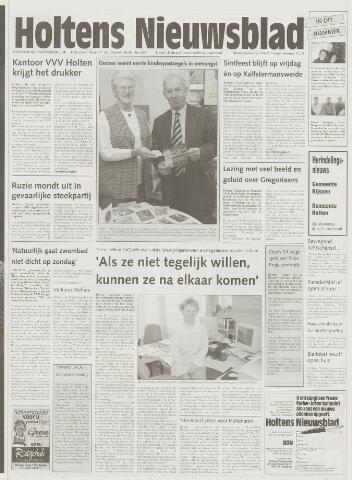 Holtens Nieuwsblad 2000-11-09