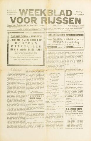Weekblad voor Rijssen 1939-06-24