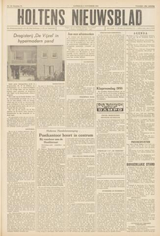 Holtens Nieuwsblad 1958-11-08