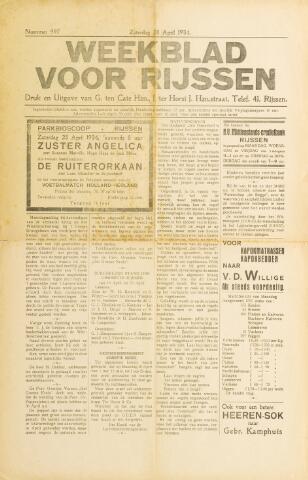 Weekblad voor Rijssen 1934-04-28