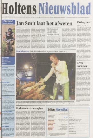 Holtens Nieuwsblad 2007-09-18