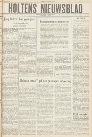 Holtens Nieuwsblad 1957-01-26