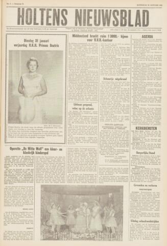 Holtens Nieuwsblad 1961-01-28