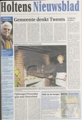 Holtens Nieuwsblad 2008-11-04