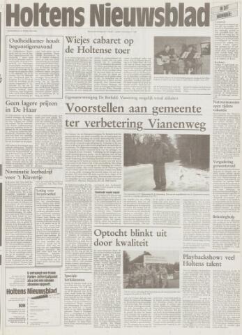 Holtens Nieuwsblad 1996-02-22