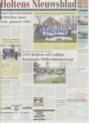 Holtens Nieuwsblad 2004-04-08
