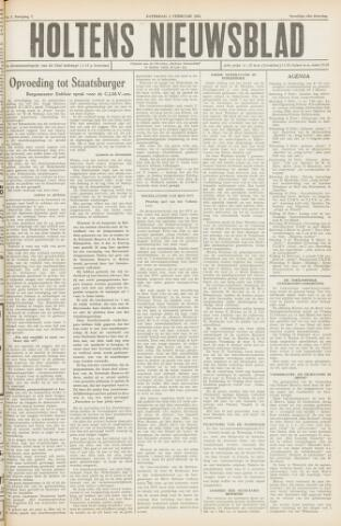 Holtens Nieuwsblad 1955-02-05