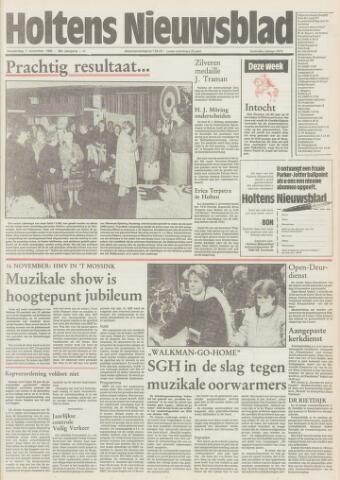 Holtens Nieuwsblad 1985-11-07